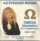 Omega CD és belépöjegy