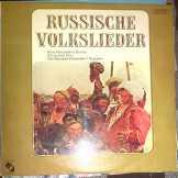 Russische Volkslieder LP Bakelit