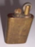 Antik régi benzines réz  öngyújtó