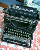 Antik UNDERWOOD  1907-USA Irógép