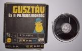 Gusztáv és a világbajnokság régi tekercses filmen