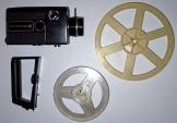 Halinamatic S8 kézi kamera filmfelvevő