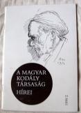 Nád Klára - A magyar kodály társaság hírei 1999/2