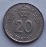 11 db magyar 20 Forint 1983 pénzérme fémpénz