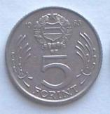 11 db magyar 5 Forint 1983 pénzérme fémpénz
