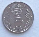 17 db magyar 5 Forint 1985 pénzérme fémpénz