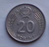22 db magyar 20 Forint 1982 pénzérme fémpénz