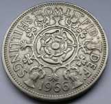2 (TWO) Shillings 1966 Egyesült királyság
