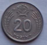 31db magyar 20 Forint 1984 pénzérme fémpénz  Átmé