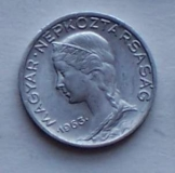 5 db Magyar 5 fillér 1963 fémpénz pénzérme