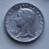 7 db Magyar 5 fillér 1965 fémpénz pénzérme
