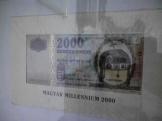 A 199-es sorszámú aranyszálas 2000 Ft-os bankjegy!