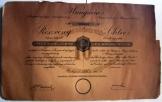 Hungária Jacquard Szövőgyár részvény 641.sorszámú
