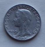 Magyar 5 fillér 1956 fémpénz pénzérme