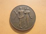UMTE bronz plakett 1946-47