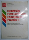 Cambridge first certificate examination Practice 3