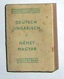 Deutsch-Ungarisch Német-Magyar miniszótár 3 kiadás
