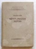 Halász Előd: Magyar-Német szótár akadémia kiadó 19