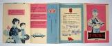 2. Próba kisdobos kihajtható kis füzet 1965-66