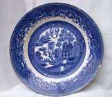 1800-as évek beli Villeroy & Bosch tányér