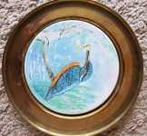 Berendsohn AG kerámia falitányér, 23 cm