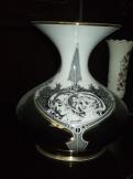 Hollóházi Száz Endre váza