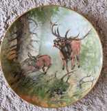 Kaiser W.Germany porcelán falitányér 24 cm