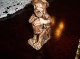 zsidó kerámia figura