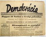 Demokrácia napilap 1945 november 4. 4 évf  30 szám