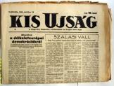Kis ujság napilap FKGP pártlapja 1945. november 17