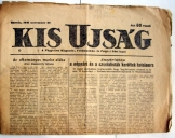 Kis ujság napilap FKGP pártlapja 1945. november 28