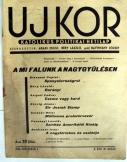 Ujkor hetilap 1936 október 1.     2. évf. 19. szám