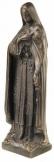 Szent Erzsébet bronz kisplasztika szobor