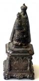 Antik régi Kis Szűz Mária szobor méret 6 cm magas