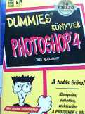 Deke McClelland: Photoshop 4 Dummies könyvek