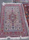 Iszfahán selyemfonalas szőnyeg