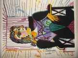 Picasso reprodukció: Dora Maar portré