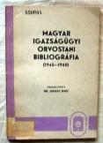 Juhász: Igazságügyi orvostani bibliógráfia 1945-60
