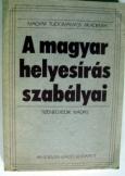 MTA: A magyar helyesírás szabályai_Akadémia kiadó
