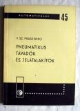 Pruszenko: Pneumatikus távadók és jelátalakítók