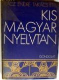 Rácz Endre:  Kis magyar Nyelvtan Gondolat 1974