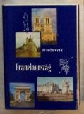 Pálfy József: Franciaország útikönyv Panoráma soro