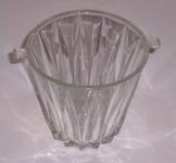 Öblös Üveg váza magassága 15 cm