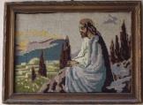 Jézus Krisztus az Olajfák hegyén  kézi Goblein kép