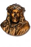 Jézus Krisztus Úrunk arca kis dombormû spiáte